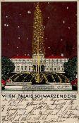 Wiener Werkstätte 139 a Janke, Urban Wien Palais Schwarzenberg 1911 I-II (Ränder leicht bestoßen)