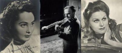 Film Kino Theater Zirkus Partie mit mehreren hundert Aushangfotos und Pressefotos diverser Formate I