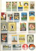 Vignette Steckalbum mit circa 730 Stück I-II