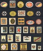 Vignette Steckalbum mit circa 1500 Stück I-II