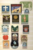 Vignette Steckalbum mit circa 460 Stück 1900-1930 I-II