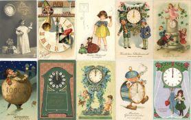 Uhren Partie mit über 480 Ansichtskarten vor 1945 dazu gratis einige neuere Karten dabei sehr schöne