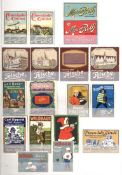Vignette Steckalbum mit circa 830 Stück I-II