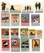 Vignette Steckalbum mit circa 620 Stück I-II