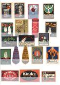Vignette Steckalbum mit circa 990 Stück I-II