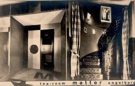 Bauhaus MATTER Fotograf, Tea ROOM ENGELBERG (CH) I-II