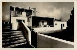 Bauhaus STUTTGART Werkbund-Ausstellung Die Wohnung 1927 I-II