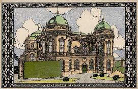 Wiener Werkstätte 317 Diveky, Josef Belvedere Palace I-