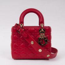 Christian Dior. Lady Dior My ABC Dior Bag Rot.