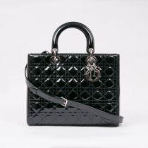 Christian Dior. Lady Dior Bag Black.