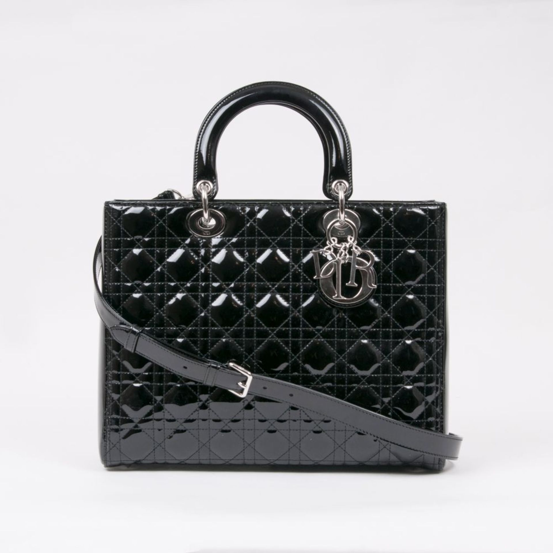 Christian Dior. Lady Dior Bag Black.