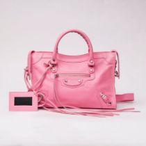 Balenciaga. Neo Classic Top Handle Bag Pink.