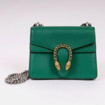 Gucci. Ikonische Dionysus Mini Bag Smaragdgrün.