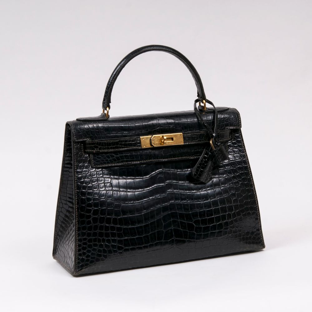 Hermès. Kelly Bag 28 Croco.