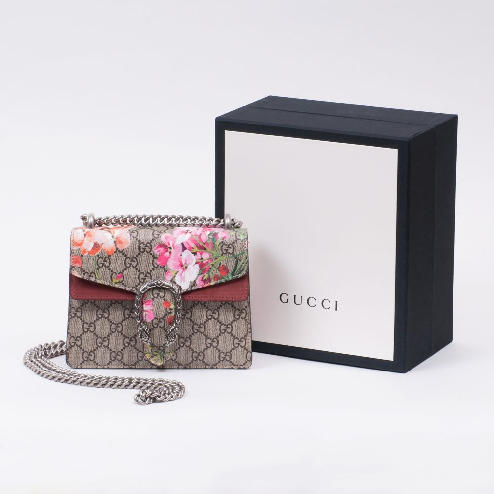 Gucci. Ikonische Dionysus Mini Bag mit Blumenprint. - Image 2 of 2