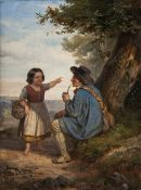 Henri-Joseph Dillens (Gent 1812 - Brüssel 1872). Da geht's lang.
