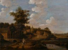 Jan van de Velde (um 1593 - Enkhuizen 1641), Nachfolger. Ländliche Idylle.