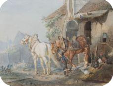 Louis Braun (Schwäbisch-Hall 1836 - Stuttgart 1916). Auf zur Arbeit!.