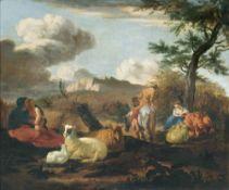 Karel Dujardin (Amsterdam 1626 - Venedig 1678). Hirtenidyll.