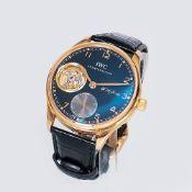 IWC - International Watch Co. gegr. 1868 in Schaffhausen. Limitierte Herren-Armbanduhr 'Portuguese T