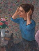 Francois Gall (Kolozsvar 1912 - Paris 1987). Am Frisiertisch.