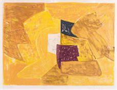 Serge Poliakoff (Moskau 1900 - Paris 1969). Composition en Orange.