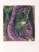 Marc Chagall (Witebsk 1887 - Paris 1985). Hiob in der Verzweiflung.