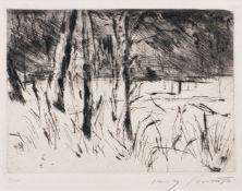 Lovis Corinth (Tapiau 1858 - Zandvoort 1925). Tiergarten im Januar.