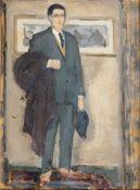 Julie Wolfthorn (Thorn 1868 - Theresienstadt 1944). Eleganter Herr.