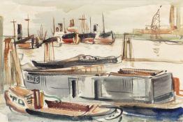 Kurt Löwengard (Hamburg 1895 - London 1940). Hamburger Hafen.
