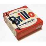 ANDY WARHOL - Brillo Box #2 - Color inks on stiff paperboard