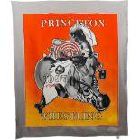 FRANK STELLA - Princeton Wrestling Scarf [Twill] - Multiple/Textile