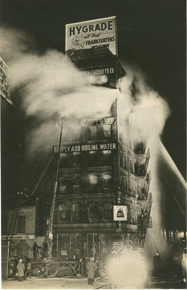 WEEGEE [arthur h. fellig] - Simply Add Boiling Water - Original vintage photogravure