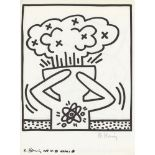 KEITH HARING - Naples Suite #18 - Lithograph