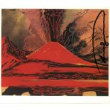ANDY WARHOL - Vesuvius #14 - Color offset lithograph
