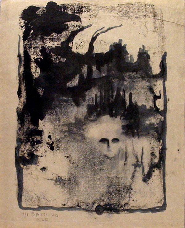 SOFIA BASSI - Untitled - Monoprint