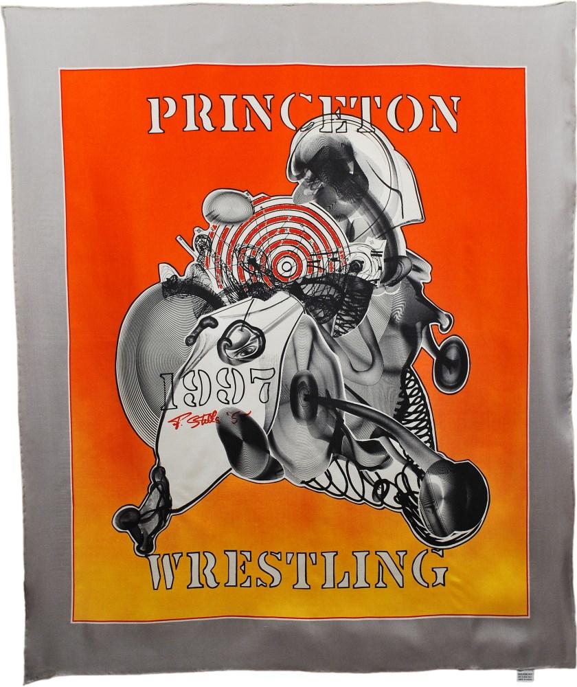 FRANK STELLA - Princeton Wrestling Scarf [Chiffon] - Multiple/Textile