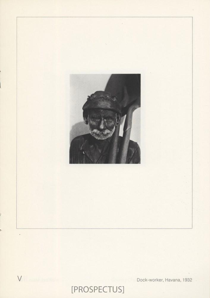 WALKER EVANS - Coal Dock Worker, Havana, Cuba - Gelatin silver print - Image 5 of 10
