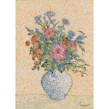 MARIE VOROBIEFF MAREVNA - Bouquet de fleurs - Gouache on paper