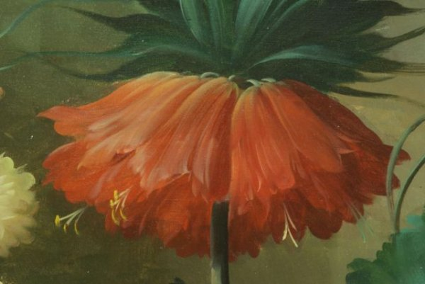 THOMAS A. LEE - Floral Still Life - Oil on canvas - Image 7 of 10