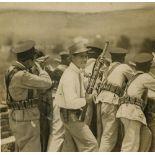 C. B. WAITE - Mexican Revolution Battle Scene - Vintage gelatin silver print