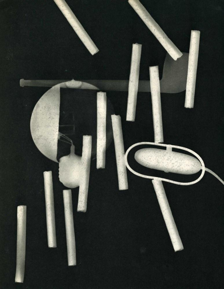 MAN RAY - Rayograph - 094 - Original vintage photogravure