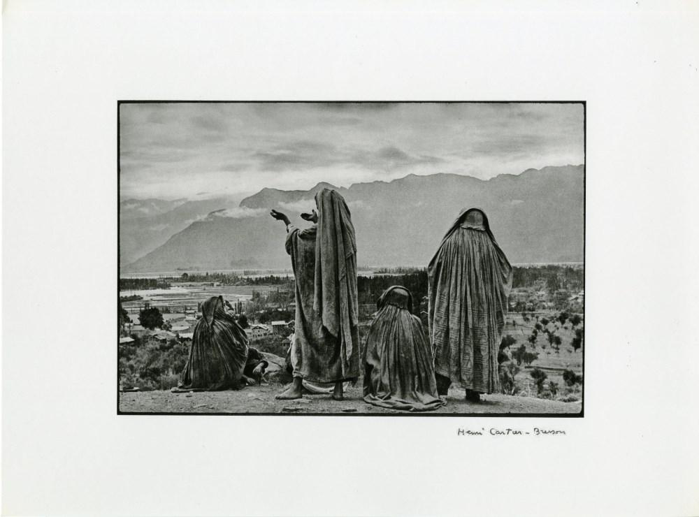 HENRI CARTIER-BRESSON - Srinagar, Kashmir - Original photogravure