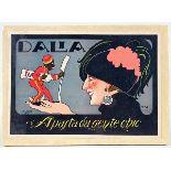 ROBERTO - Dalia - Apasta da Gente Chic - Original vintage color lithograph