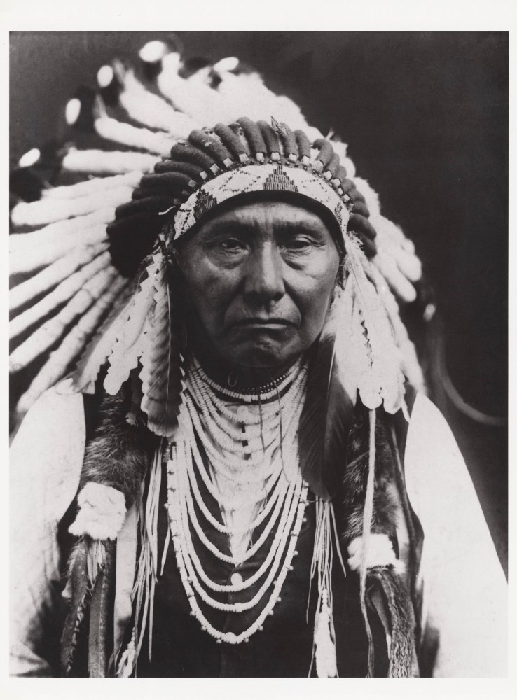 EDWARD S. CURTIS - Chief Joseph, Nez Perce - Original photogravure