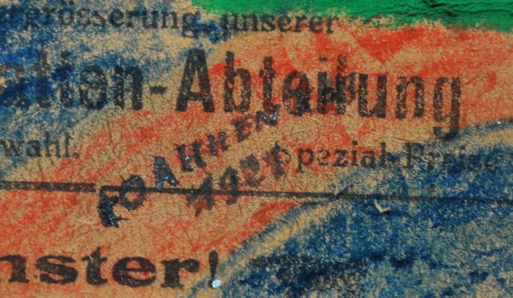 YURI PAVLOVICH ANNENKOV - Constructivist Composition - Mixed Media on paper, mounted on board - Image 2 of 9