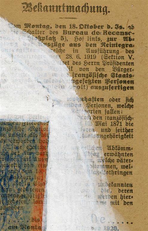 YURI PAVLOVICH ANNENKOV - Constructivist Composition - Mixed Media on paper, mounted on board - Image 6 of 9