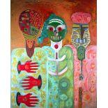 KARIMA MUYAES - Otros Conocidos I - Oil on canvas