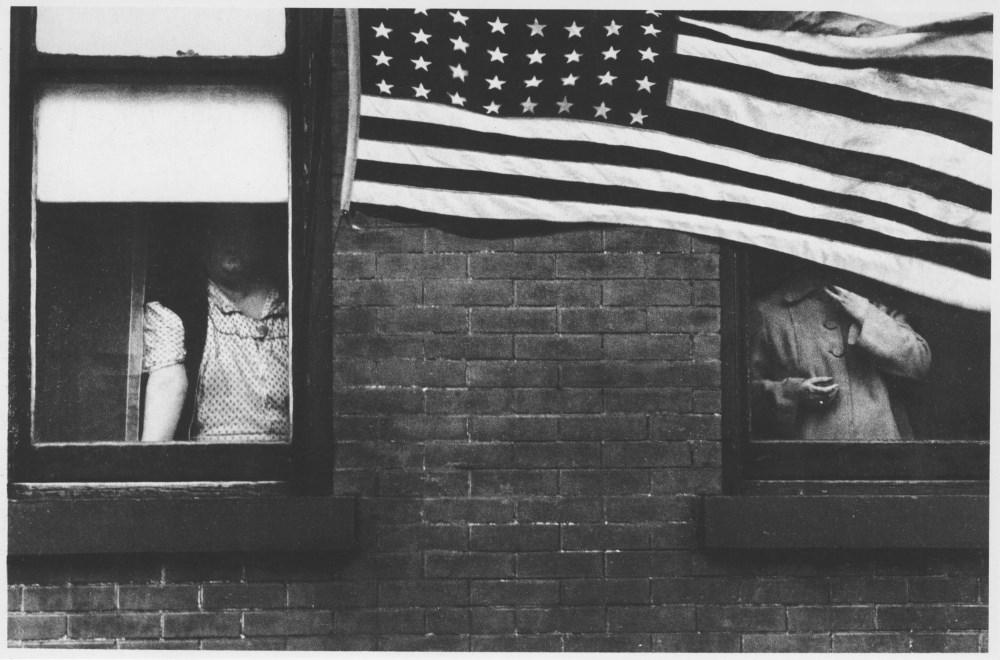 ROBERT FRANK - Parade, Hoboken, New Jersey - Original photogravure