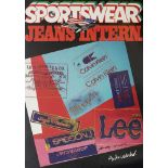 ANDY WARHOL - Sportswear Jeans International - Color offset lithograph